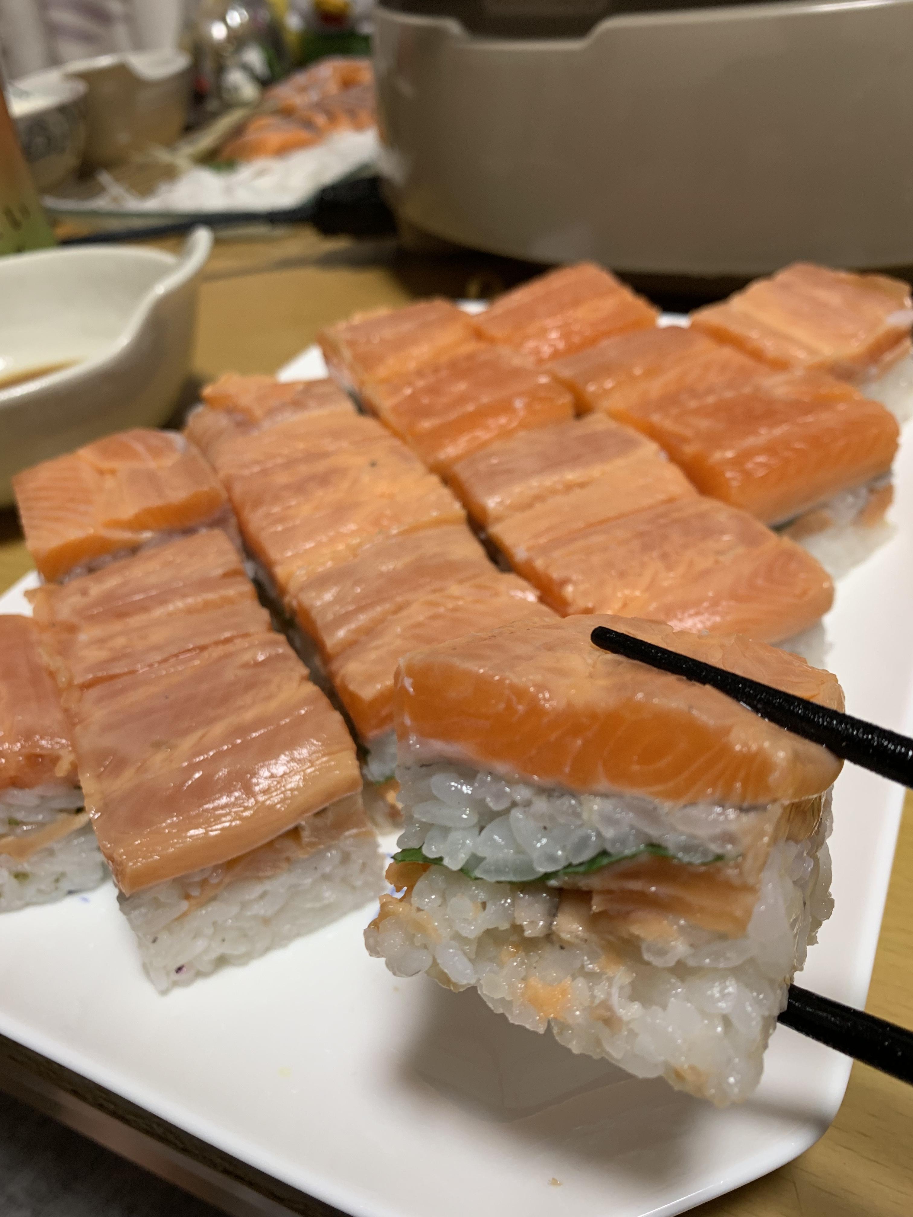 ギンザケの押し寿司♪