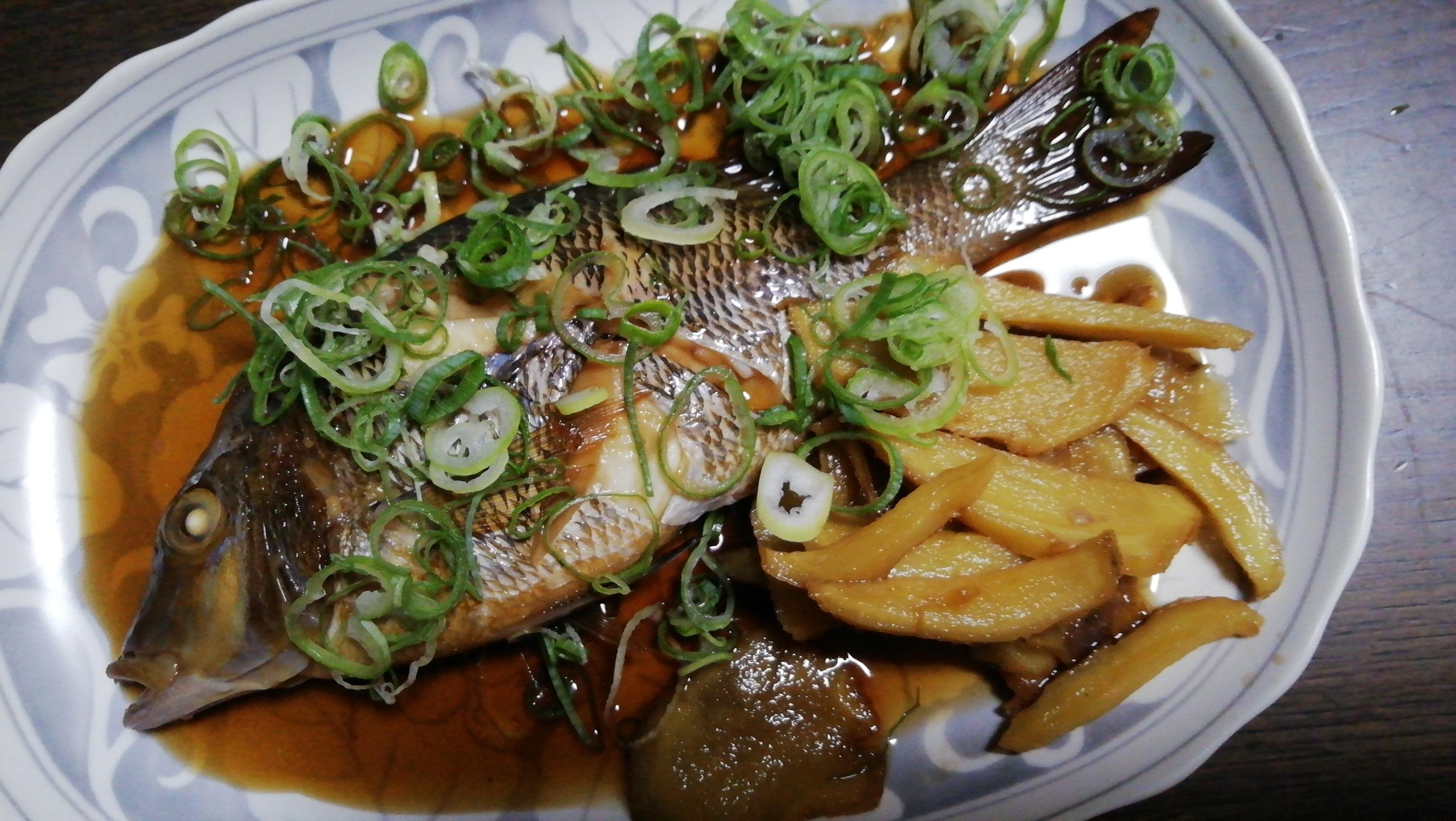 身は白身魚。大変美味しいさかなです。