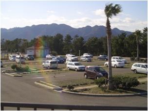 広野海岸公園 第一駐車場