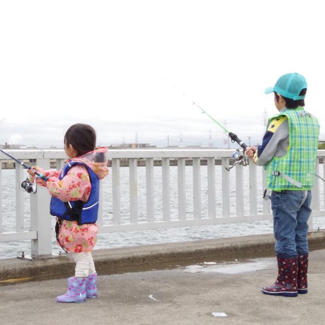 堤防で釣りをしたい!