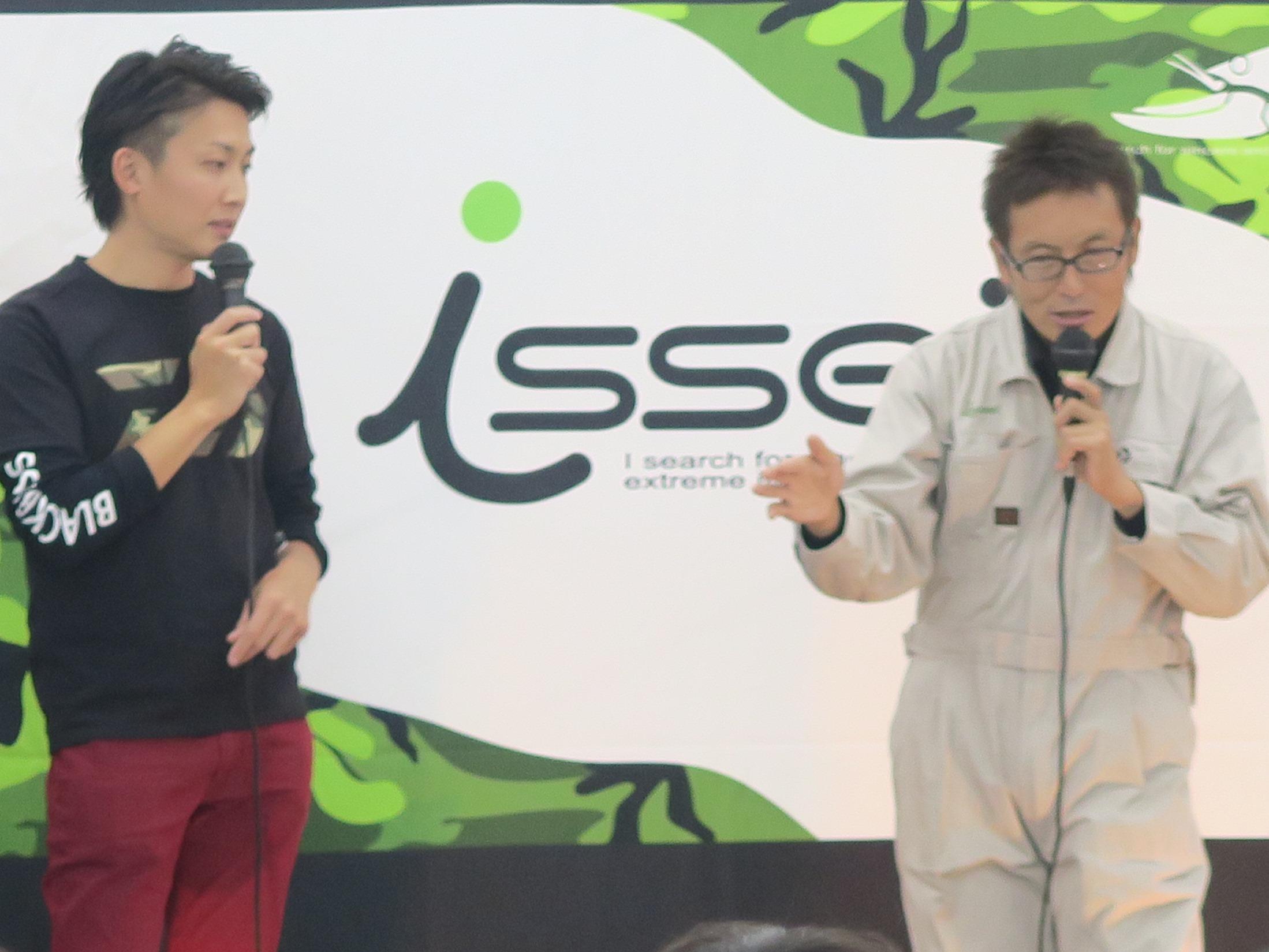 トークは師弟関係のこのお二人! 村上さんと赤松さんで熱いバス談義が今年も繰り広げられました!!