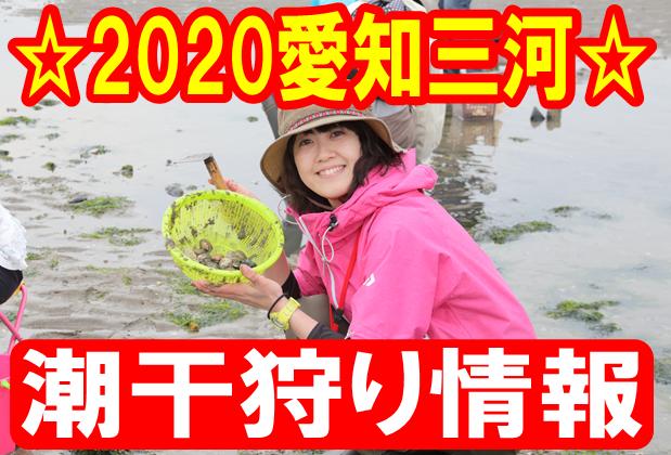 2020 御殿場 海岸 潮干狩り