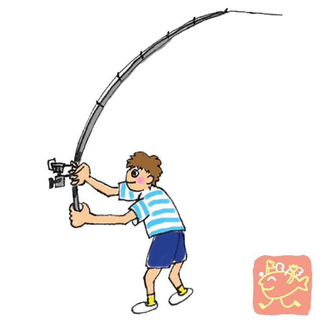 リール竿での上手な投げ方(スピニングリール)