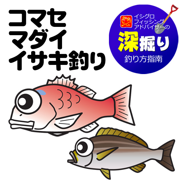 船 コマセマダイ・イサキ釣り