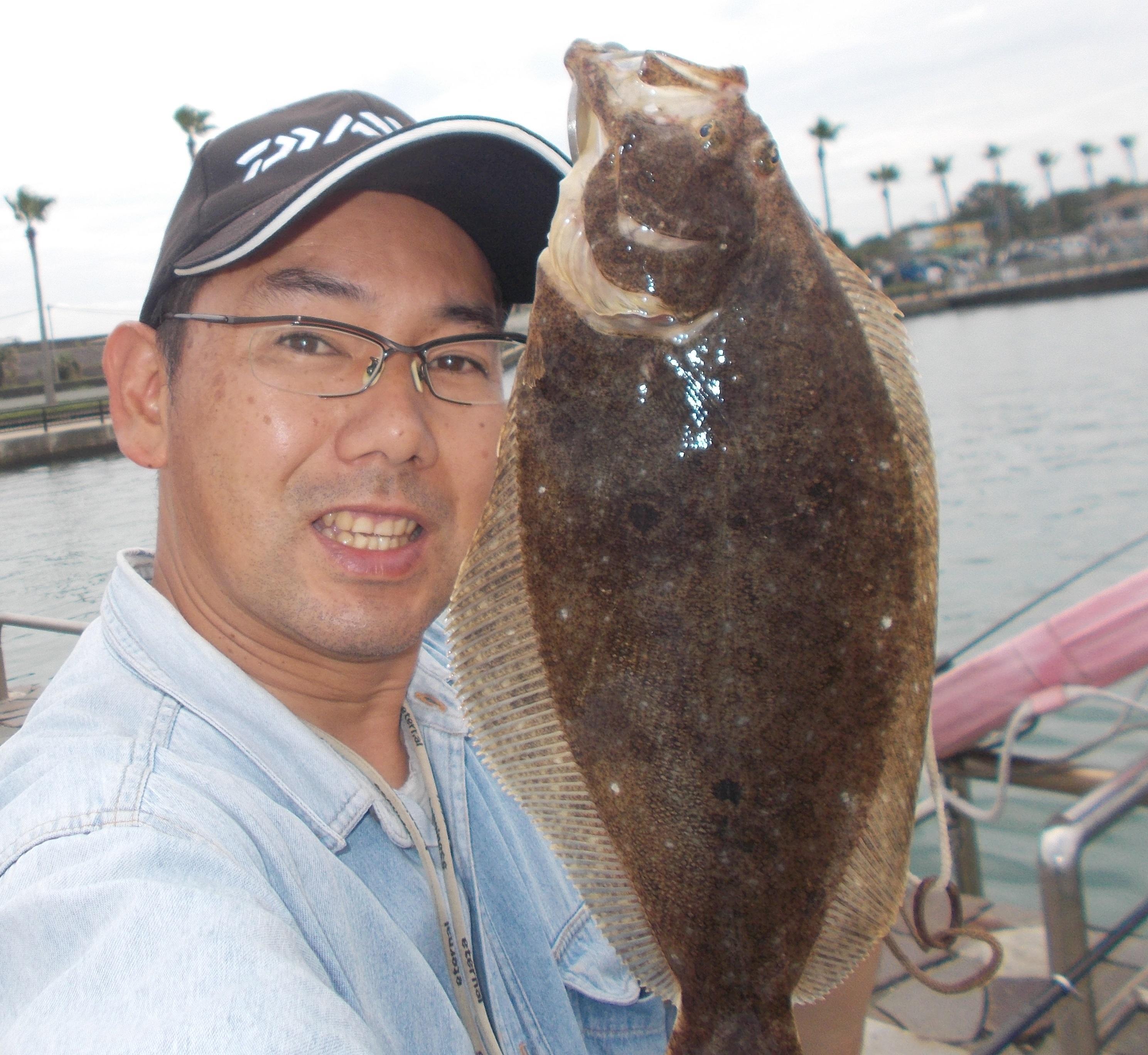 今年はサビキ絶好調!それに釣られてヒラメの魚影も多いですよ。