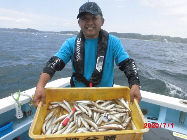 『モロポチャギス釣り』④回のお客様は今日の竿頭トップ釣果⑧②本釣りましたッ(^-^)