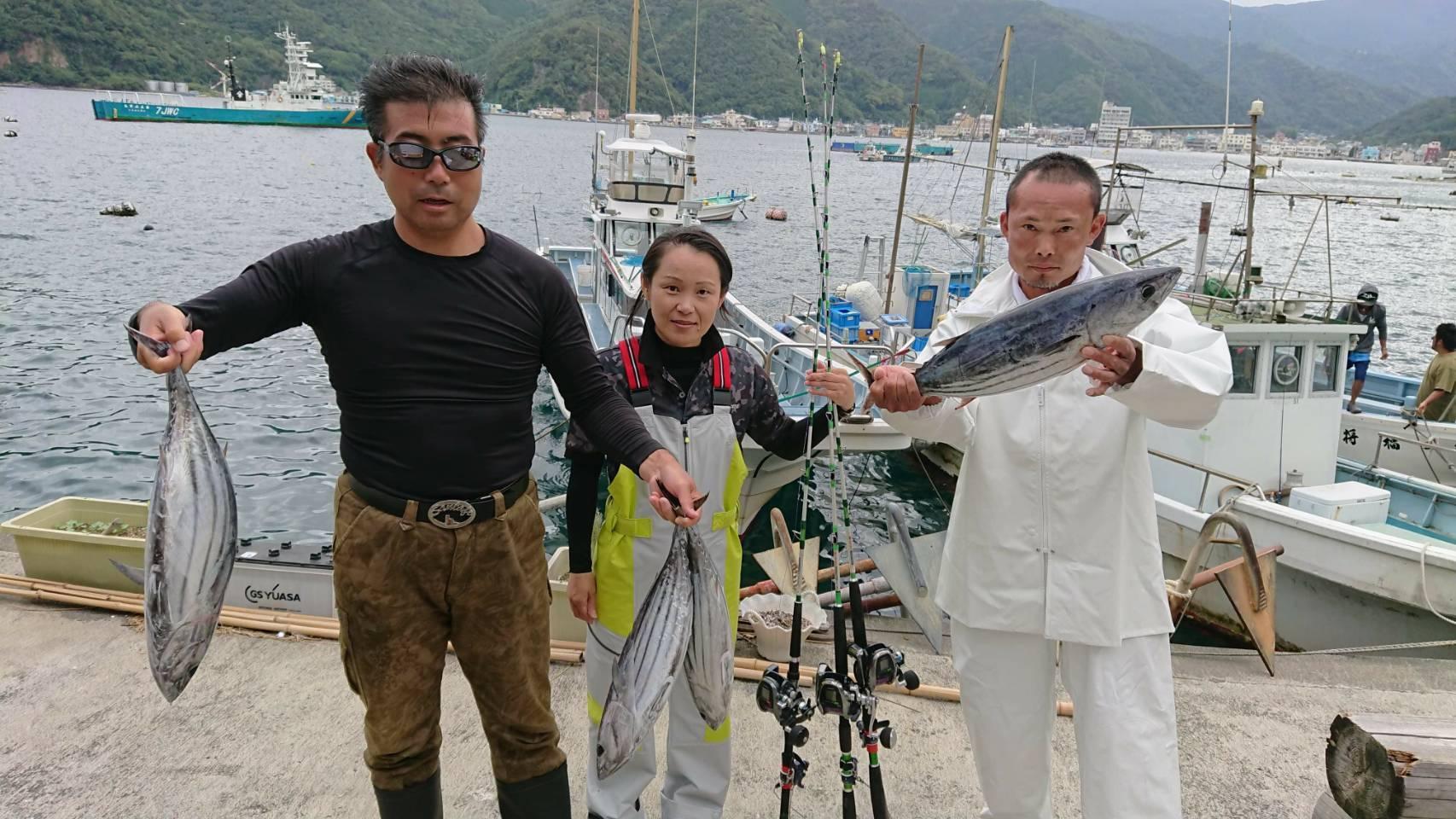 釣れている今がチャンスです!駿河湾カツオ好調です!!