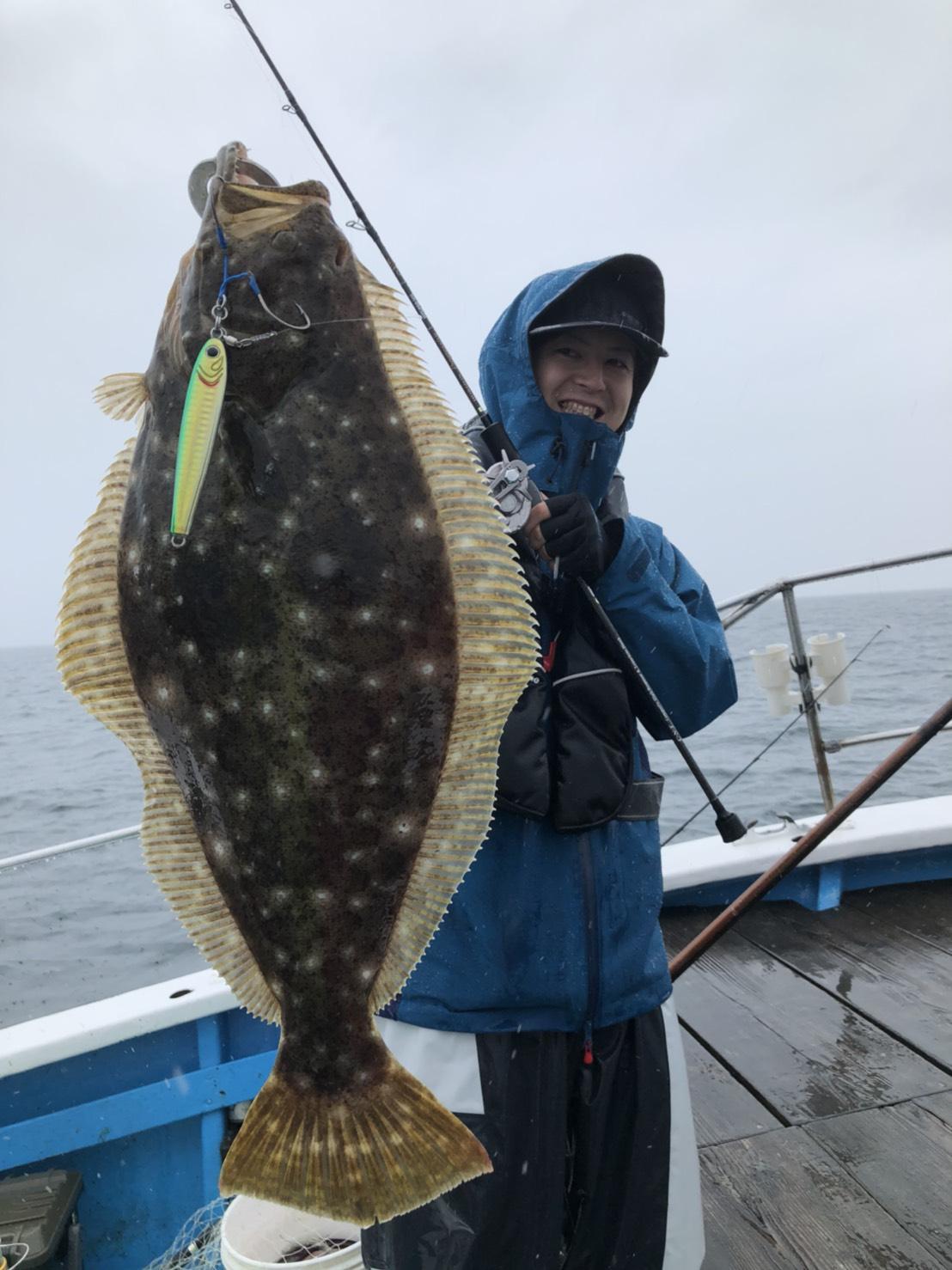 ジギングで高級魚GETだ!!!