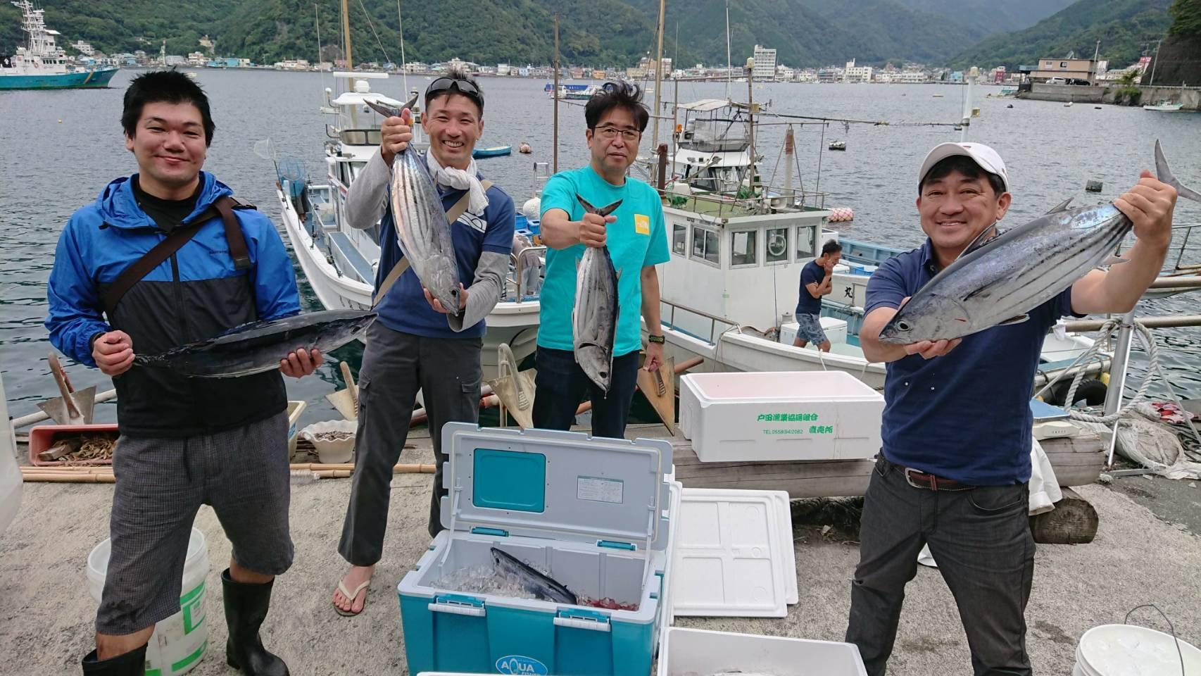 駿河湾カツオ好調です!釣れている今がチャンスです!!