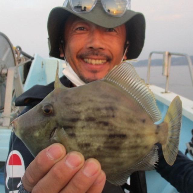 こちらのお客様は『純粋カワハギ釣り』初挑戦で良型カワハギ含めてツヌケOver狩り達成ッ(°▽°)
