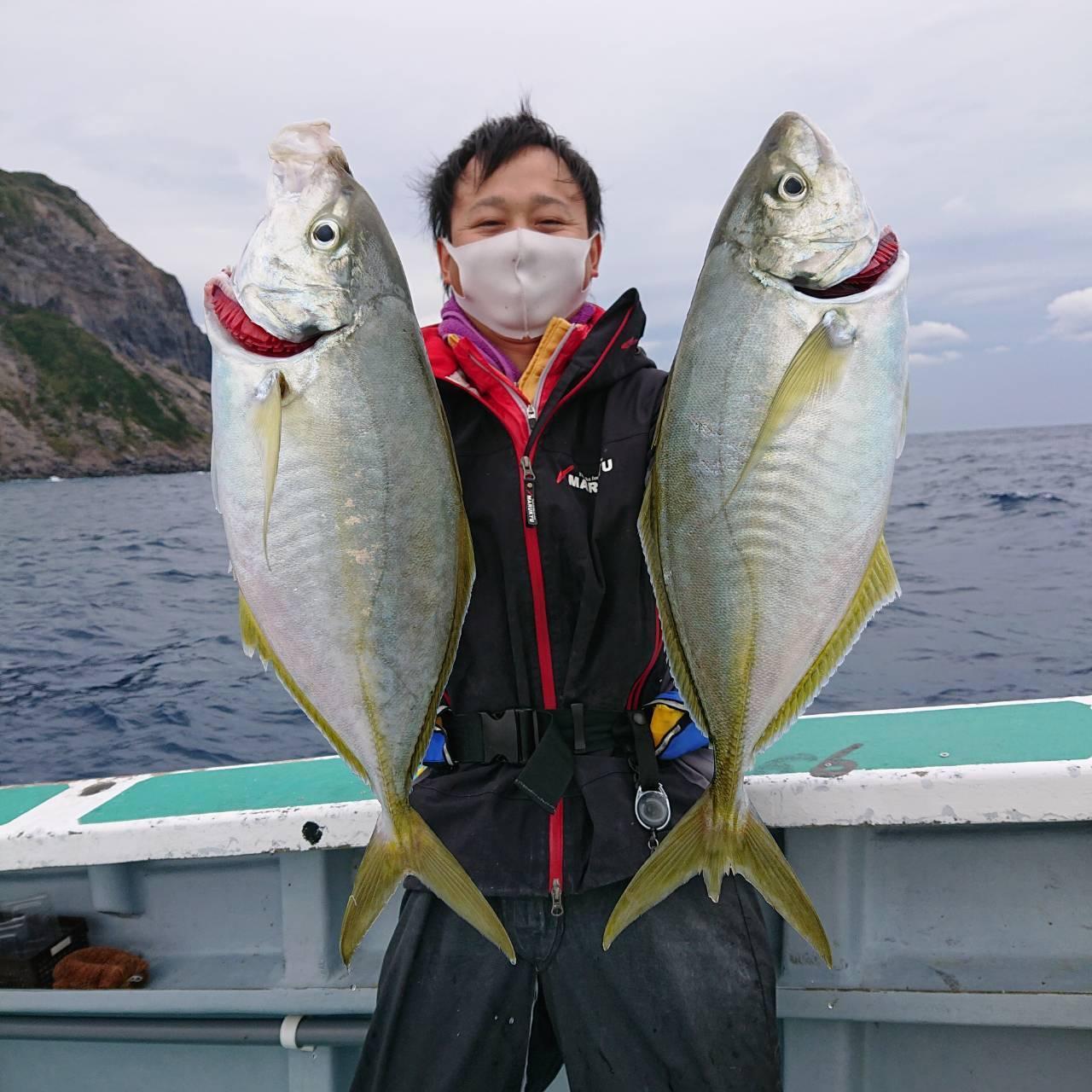 2㎏前後の良型も釣ることができます!