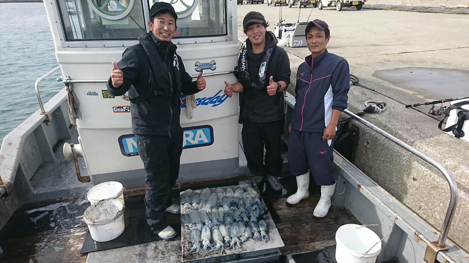 伊良湖港送迎第三太漁丸 ティップラン便。船長もやさしくてオススメです。料金9000円。