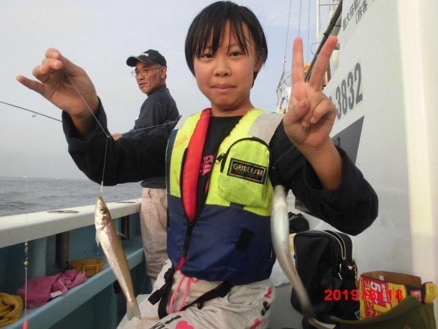 残り僅かの夏休みの思い出に 港から⑤分のめっちゃ近場の『モロポチャギス釣り』は如何ですかッ(^-^)⁈