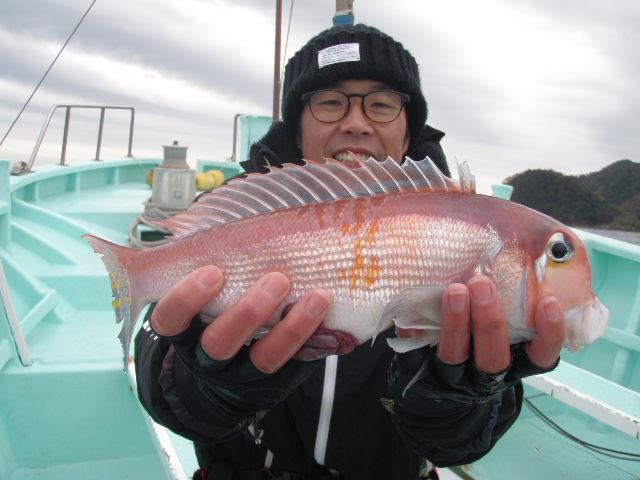 冬の人気ターゲット アマダイ釣り!